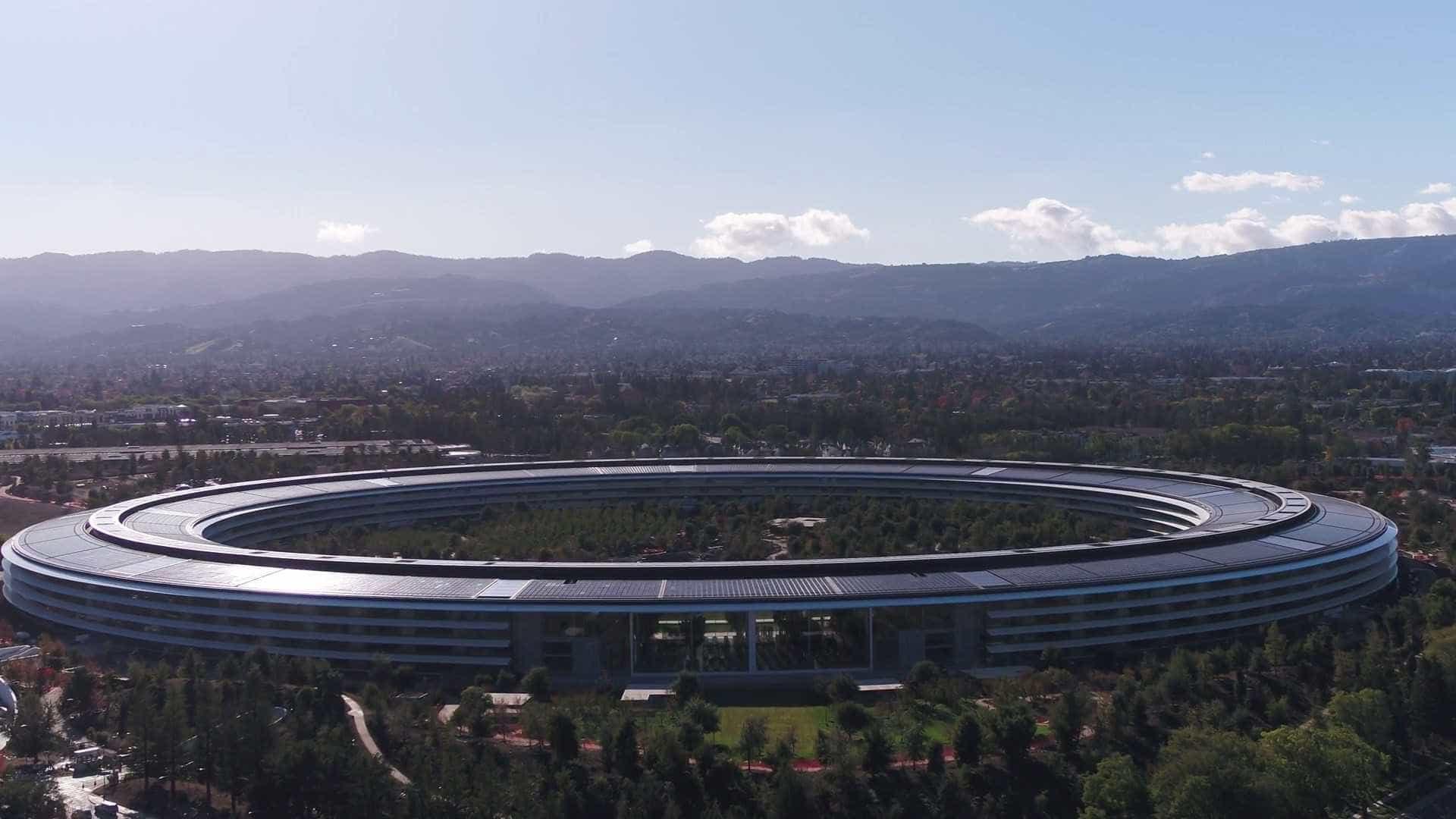 Conheça a nova sede da Apple na Califórnia