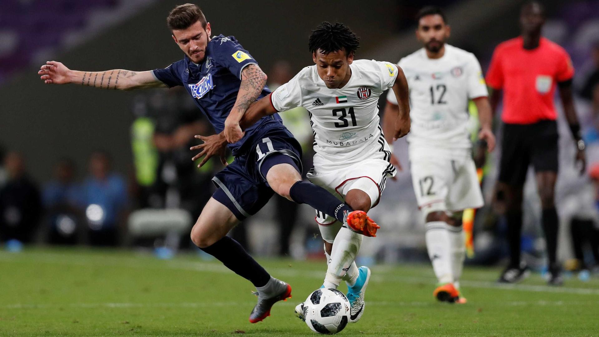 Com gol brasileiro, Al Jazira vence na estreia do Mundial de Clubes
