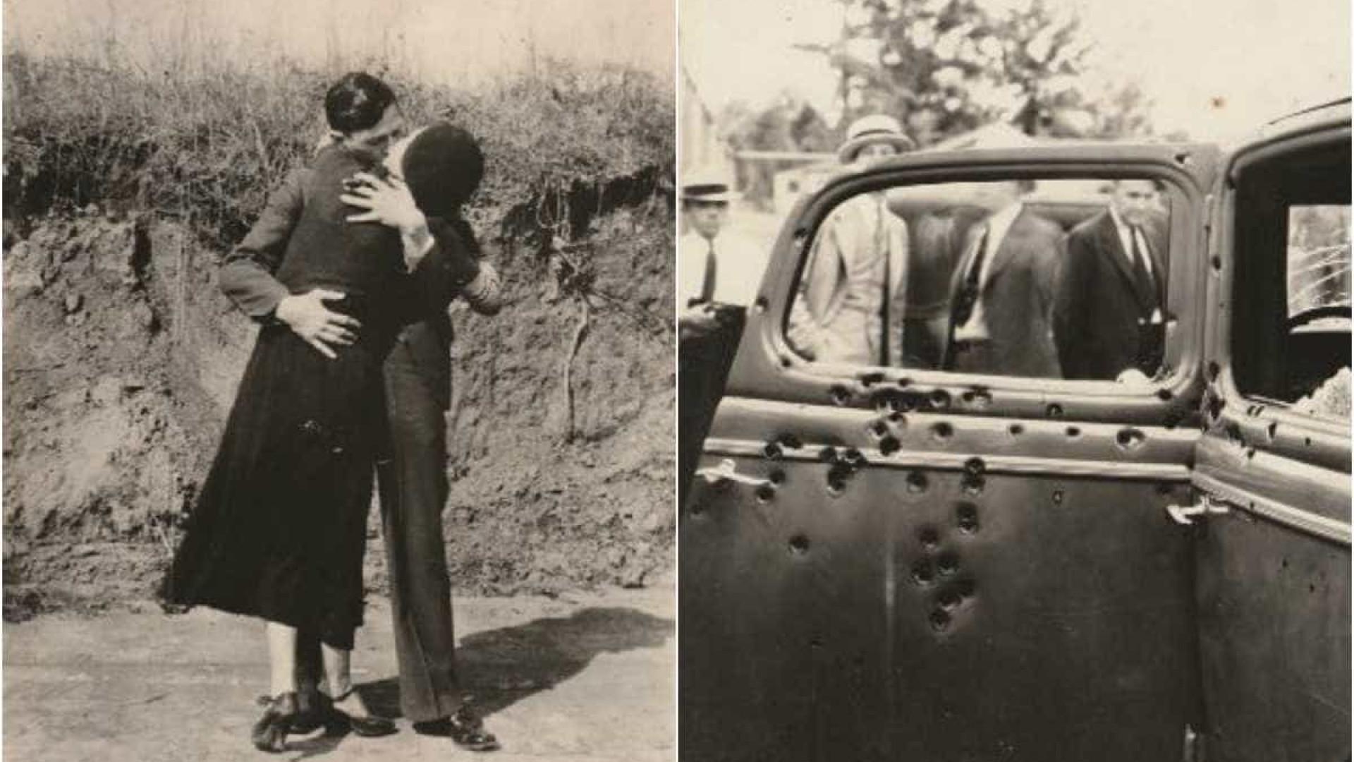 Horas finais de Bonnie e Clyde reveladas em fotografias inéditas