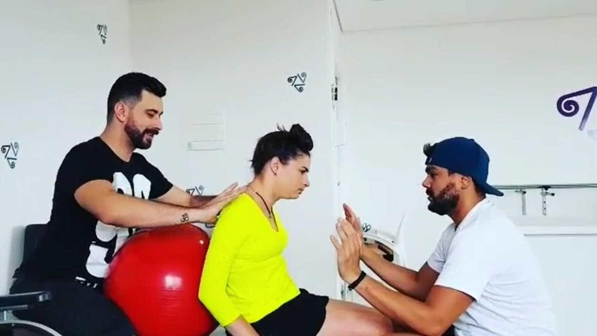 A emocionante evolução da ex-ginasta Laís Souza; vídeo