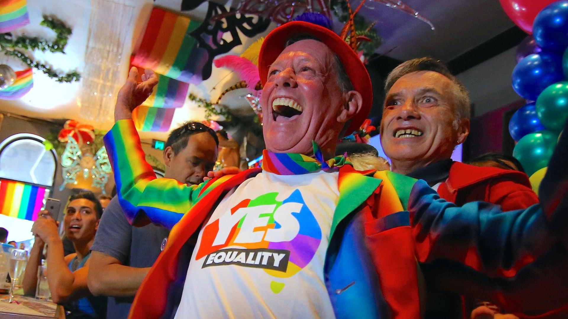 Parlamento da Austrália aprova casamento gay