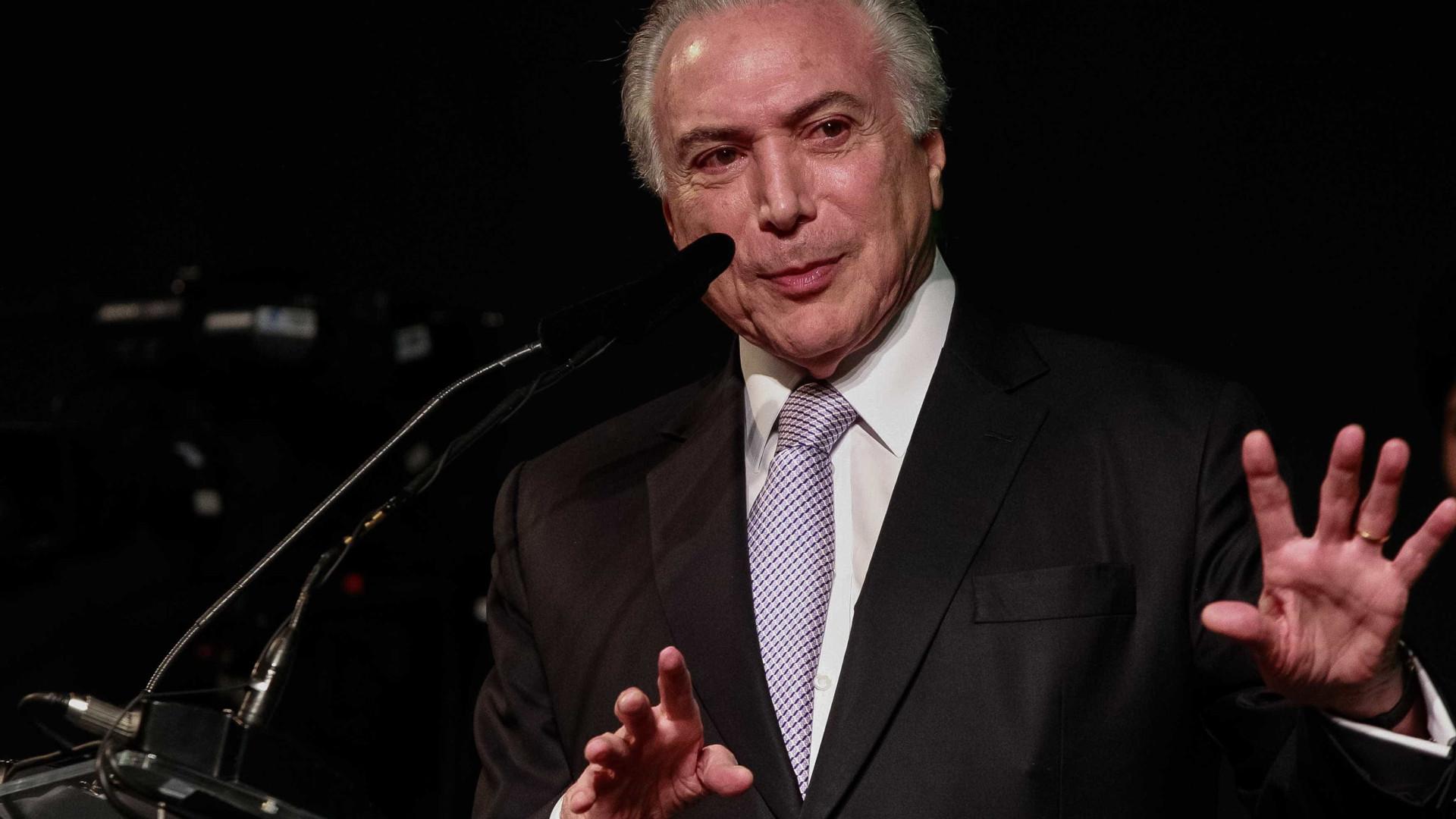 Temer não terá alta hoje e posse de Marun é adiada, diz Planalto
