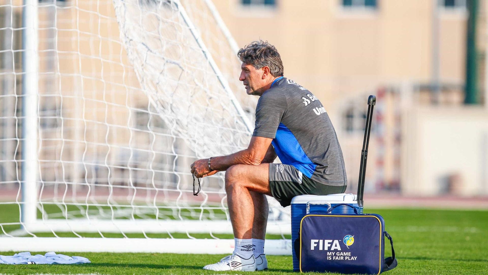 Grêmio e Renato Gaúcho se encontram, mas renovação ainda não é definida