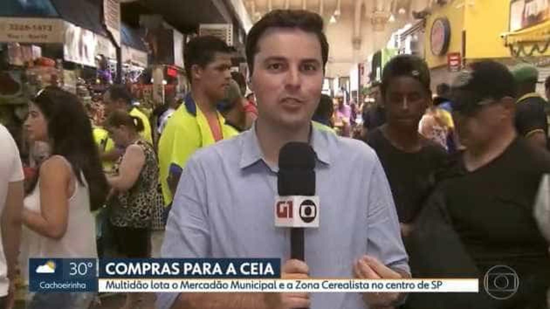 Homem grita 'Globo lixo' ao vivo e repórter responde à altura
