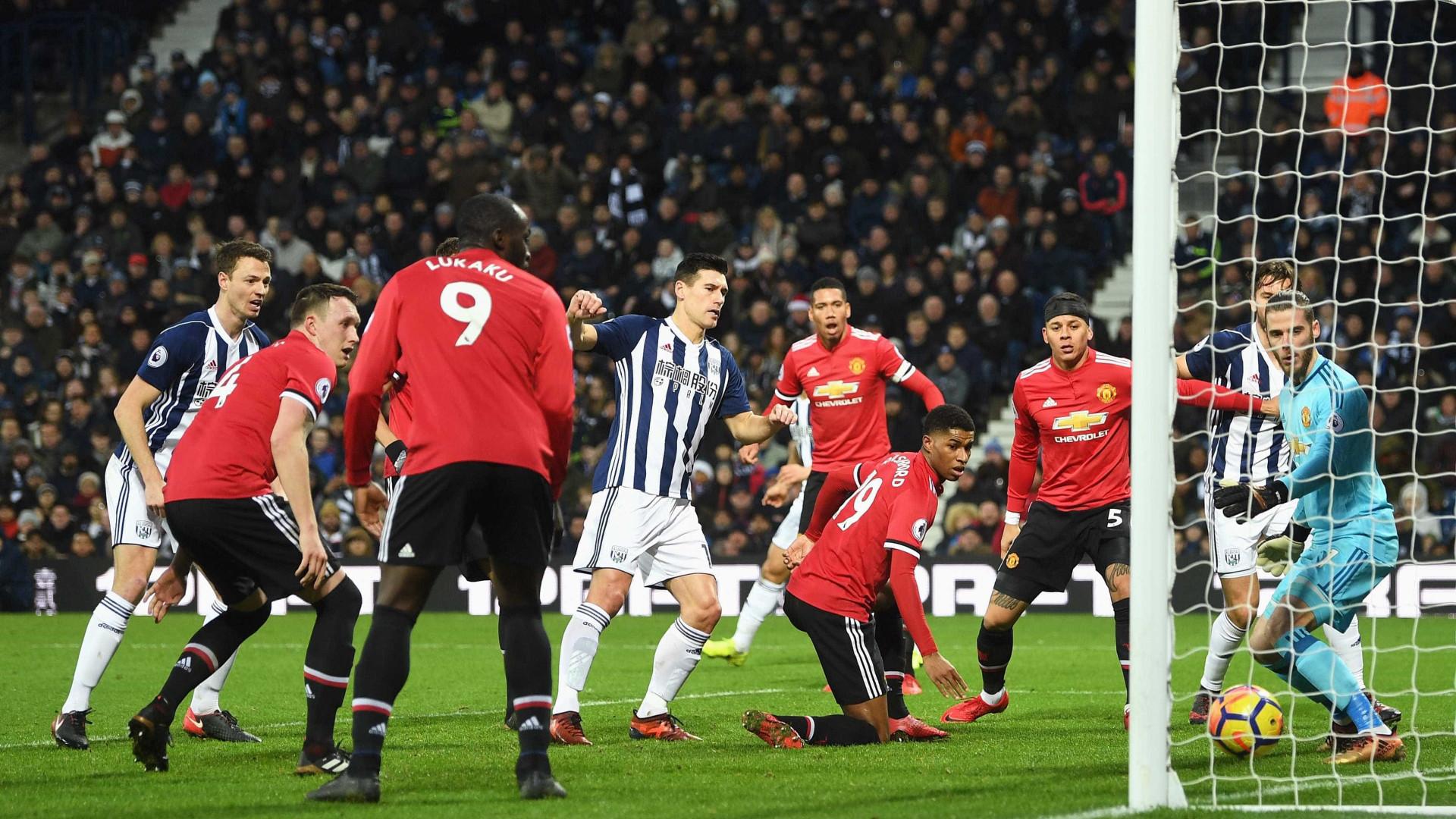 United vence na visita ao West Brom