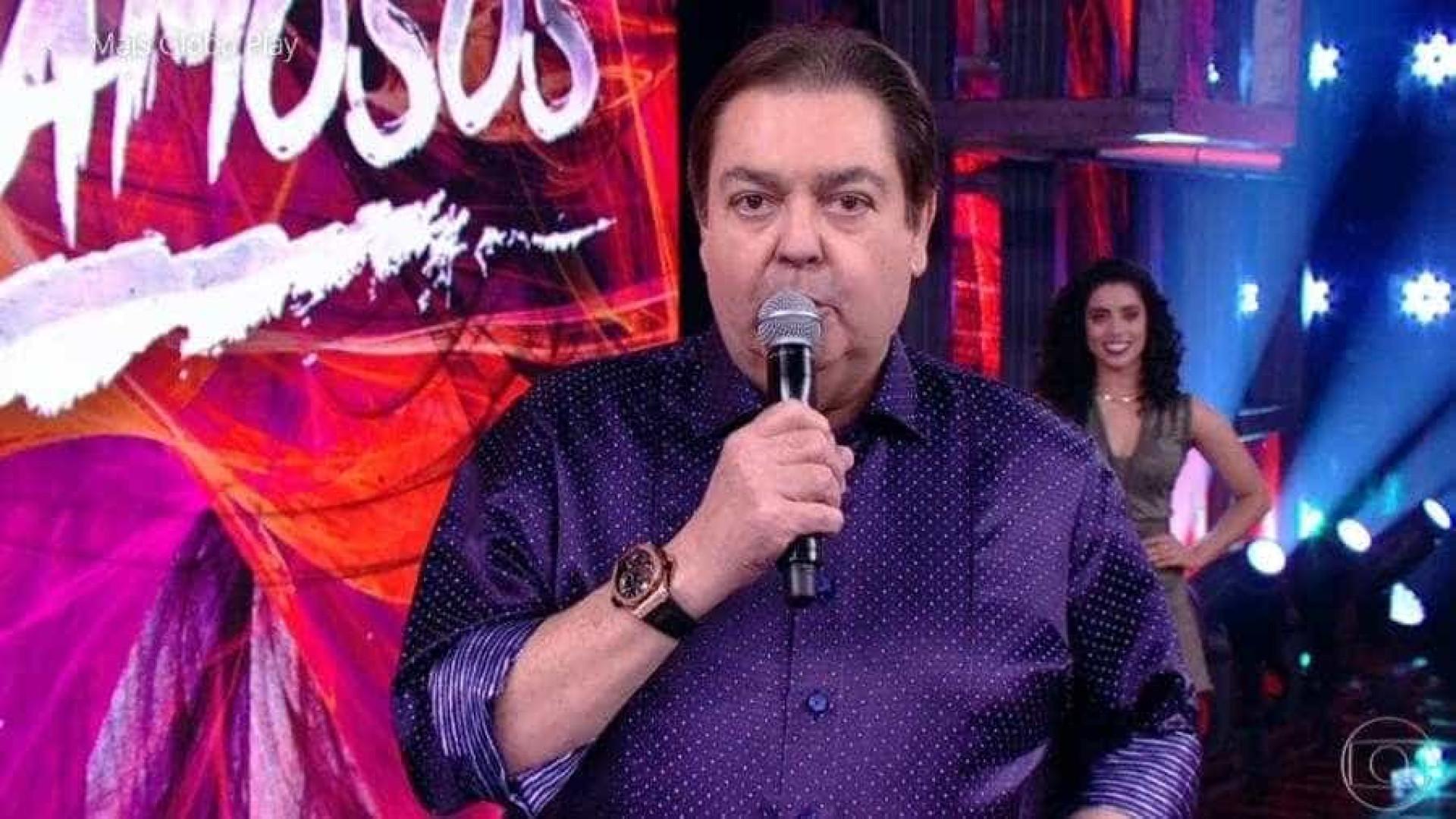 Faustão desabafa e diz que não aguenta mais tema de fim de ano da Globo