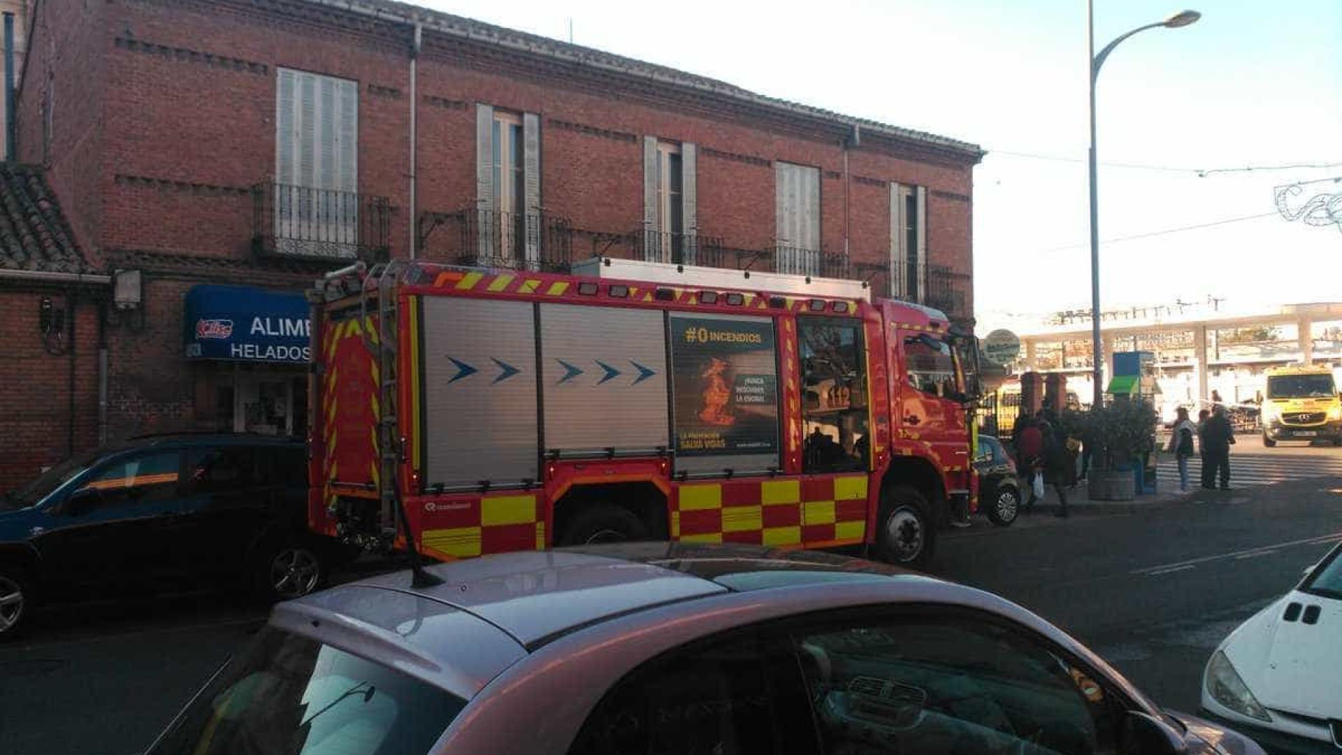 Acidente com comboio faz 45 feridos em Madrid