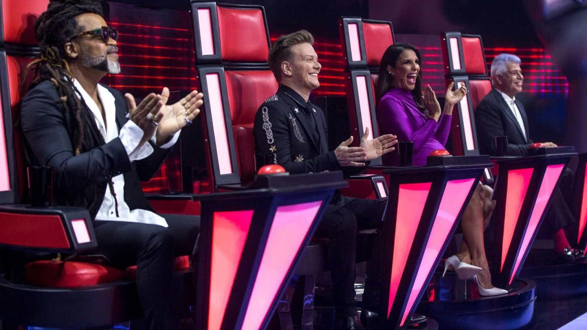 Ivete, Brown, Teló e Lulu estão confirmados no 'The Voice Brasil 2018'