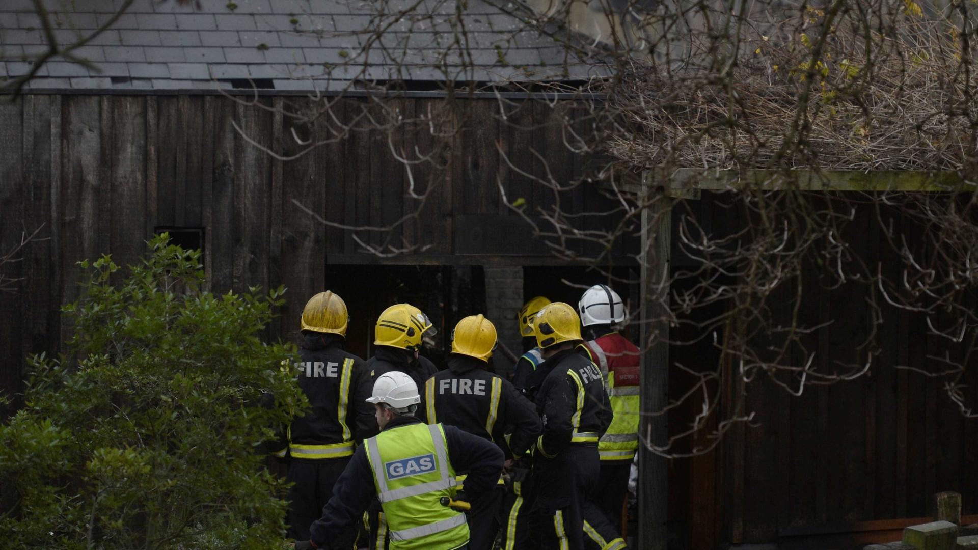 Um animal morto e quatro desaparecidos após incêndio em zoo de Londres
