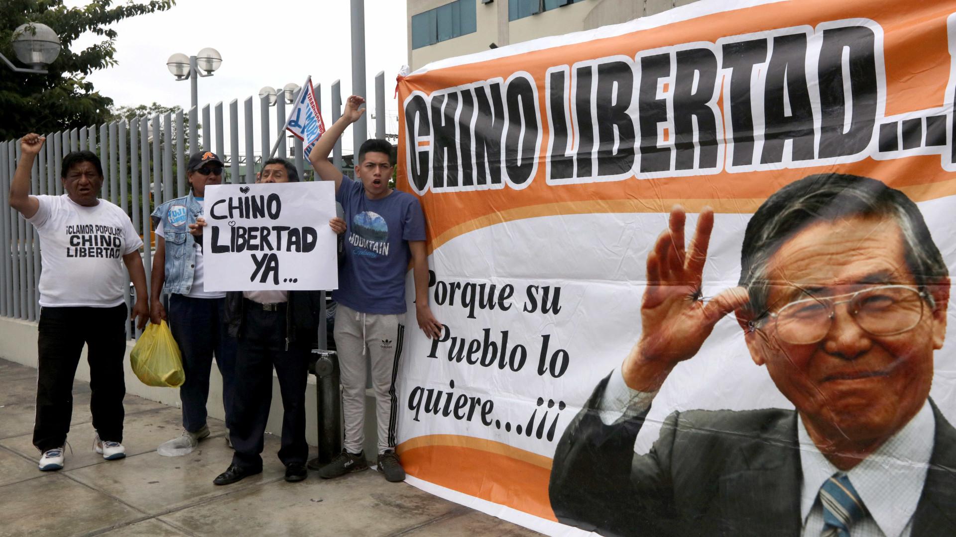 ONU condena perdão do presidente do Peru a Alberto Fujimori