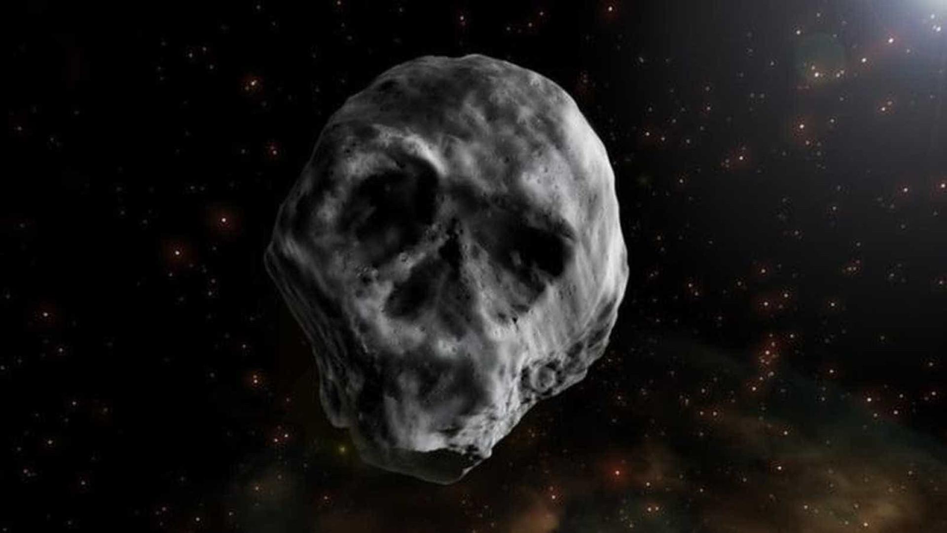 Asteroide em forma de caveira volta a passar perto da Terra em 2018