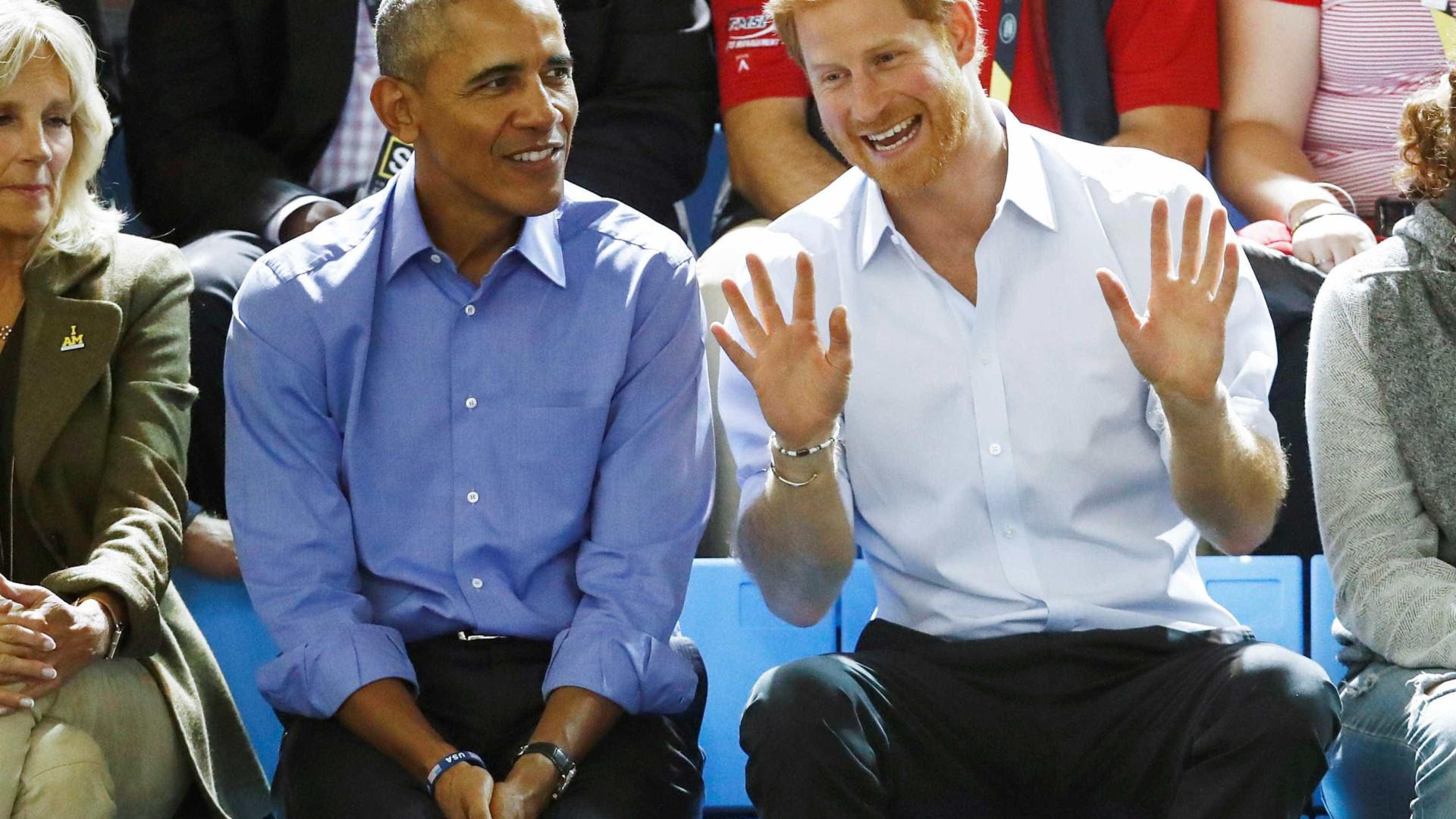 Príncipe Harry ainda não sabe se vai convidar Obama para casamento