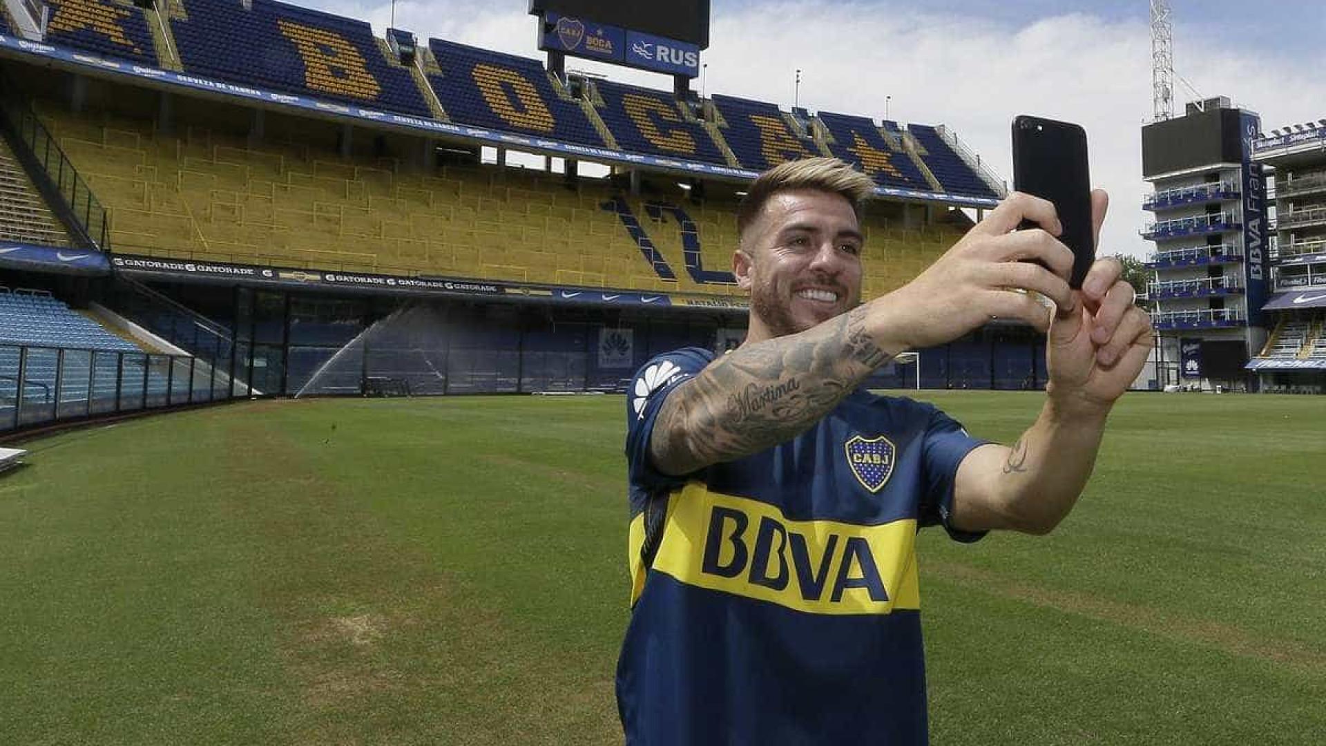 Anunciado pelo Boca Juniors, Buffarini decepcionou no São Paulo