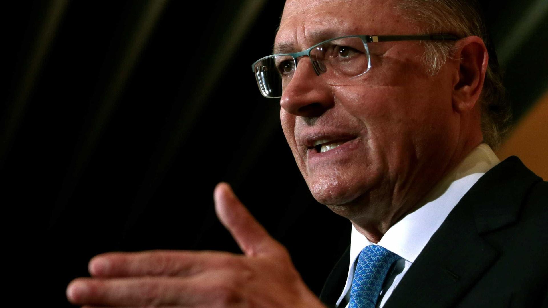 Investigado, Alckmin diz que não passa 'a mão na cabeça de criminoso'