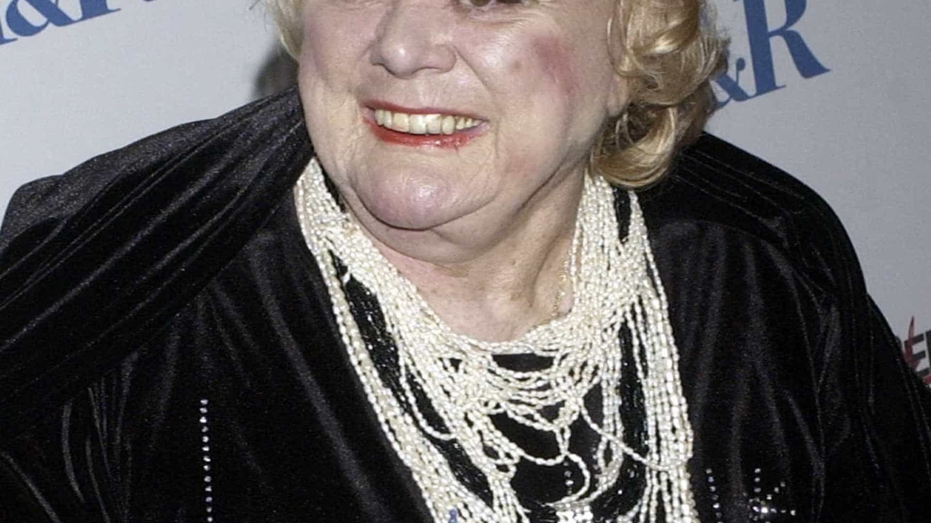 Atriz e comediante norte-americana Rose Marie morre aos 94 anos