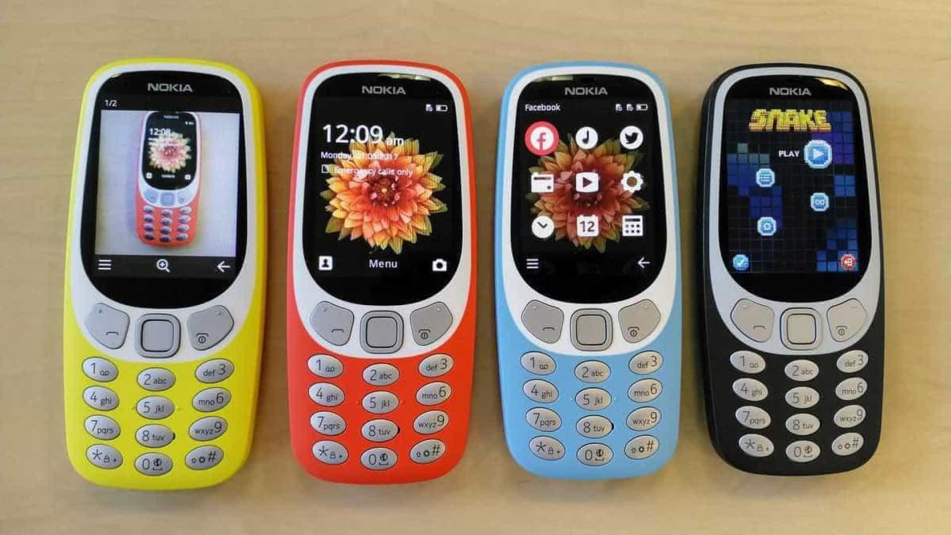 Tijolão: Nokia 3310 terá edição especial com 4G e WhatsApp