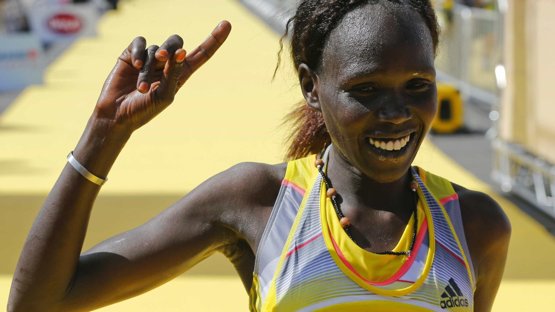 Queniana vence a prova feminina da São Silvestre