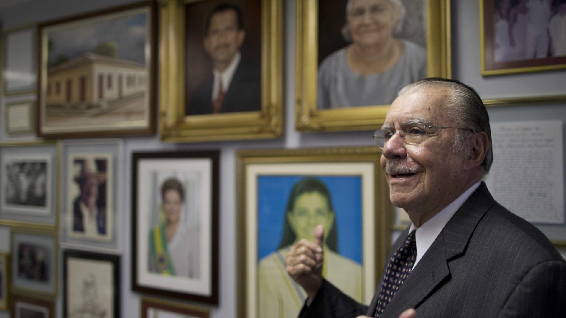 Sarney nega que tenha vetado Pedro Fernandes para ministério