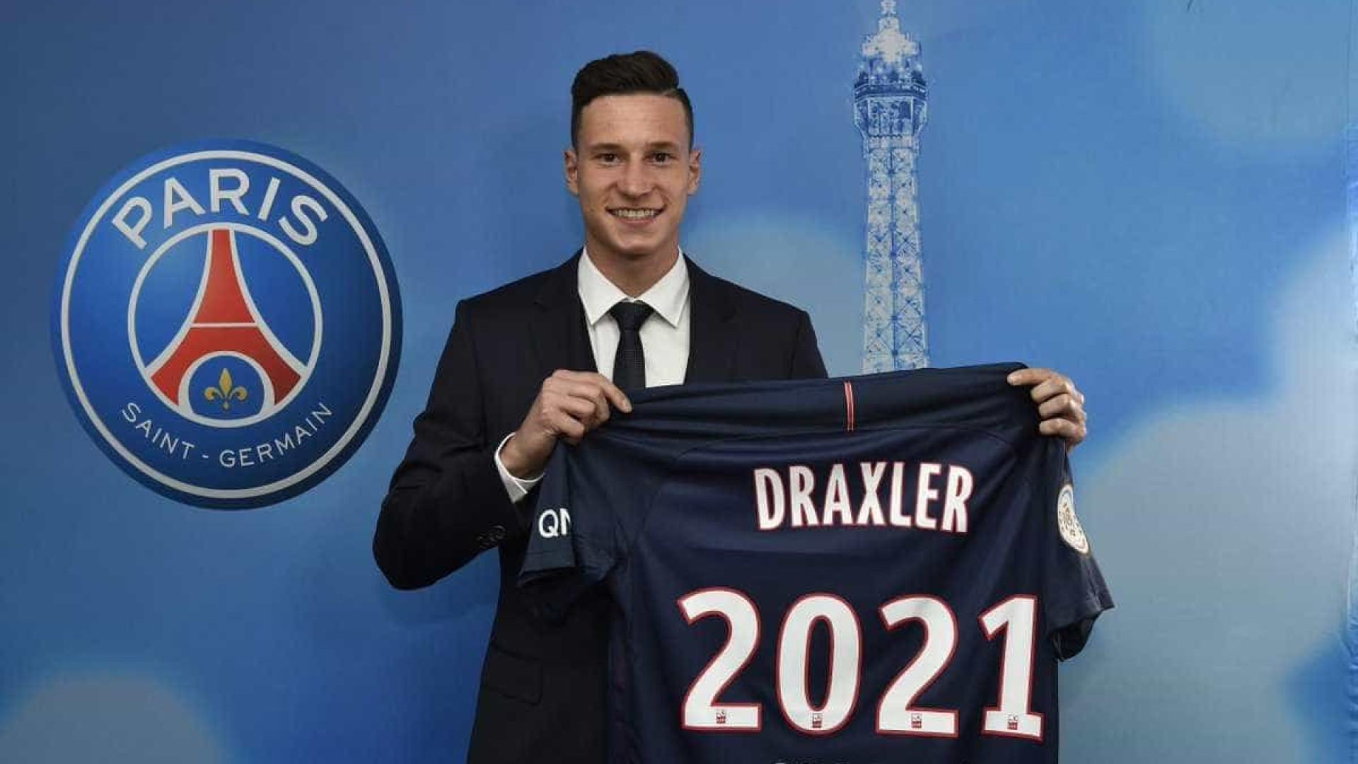 Especulado no Liverpool, alemão Draxler renova com o PSG