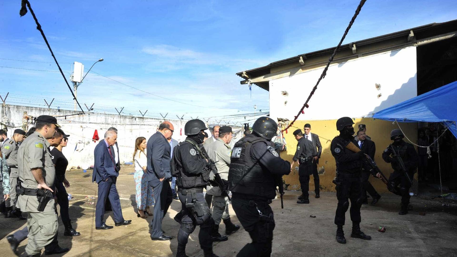 Guerra entre Comando Vermelho e PCC motivou rebelião em Goiás