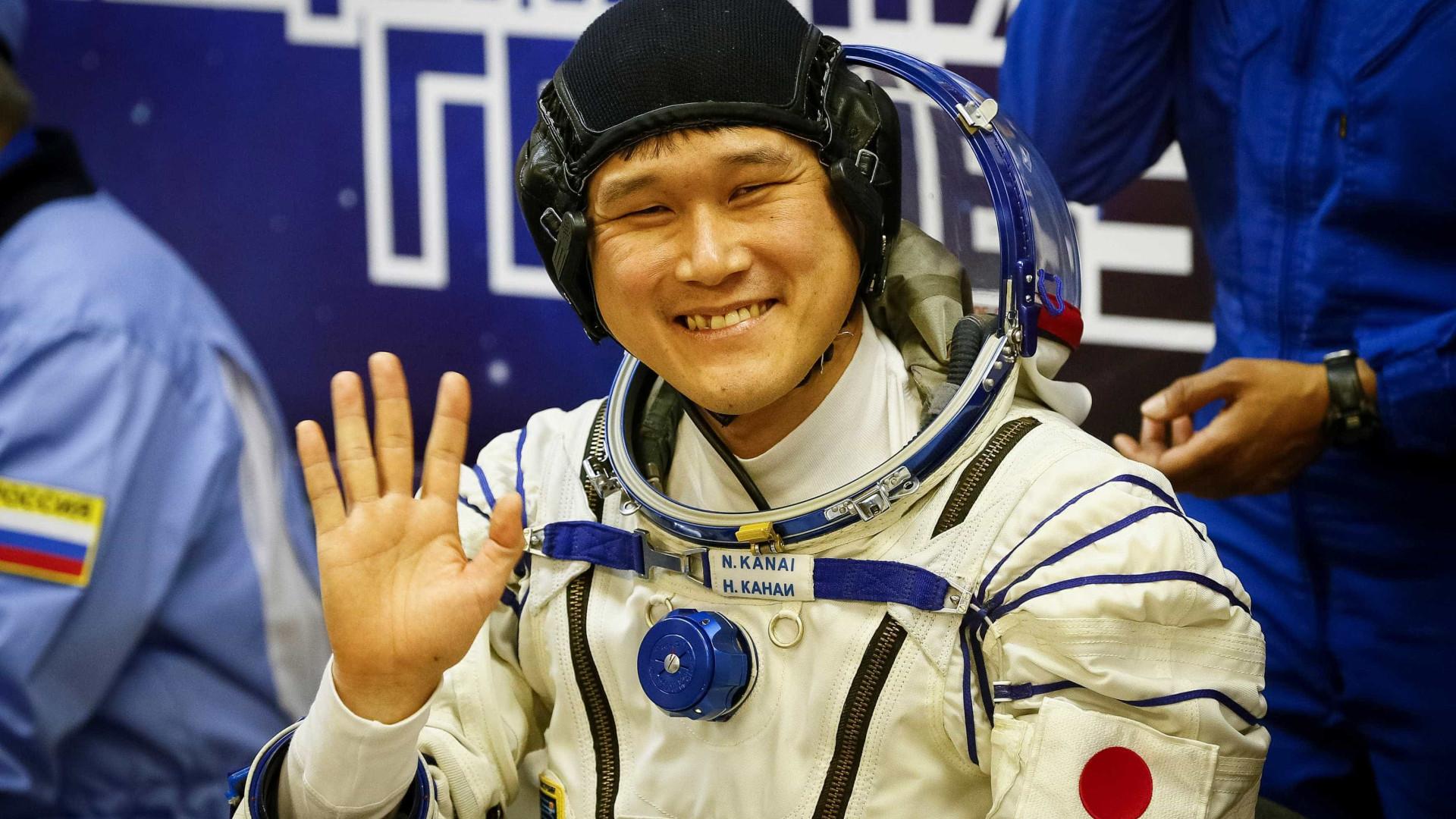 Astronauta japonês cresce 9 cm em três semanas na Estação Espacial