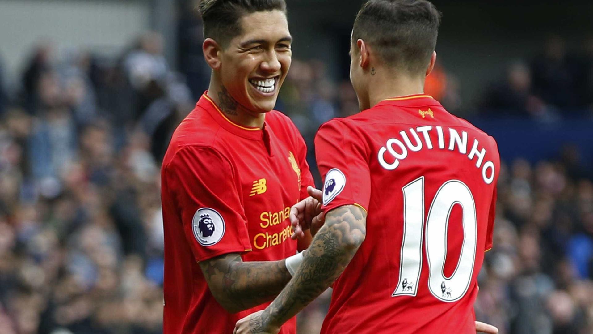 Treinador do Porto feliz pela saída de Coutinho do Liverpool