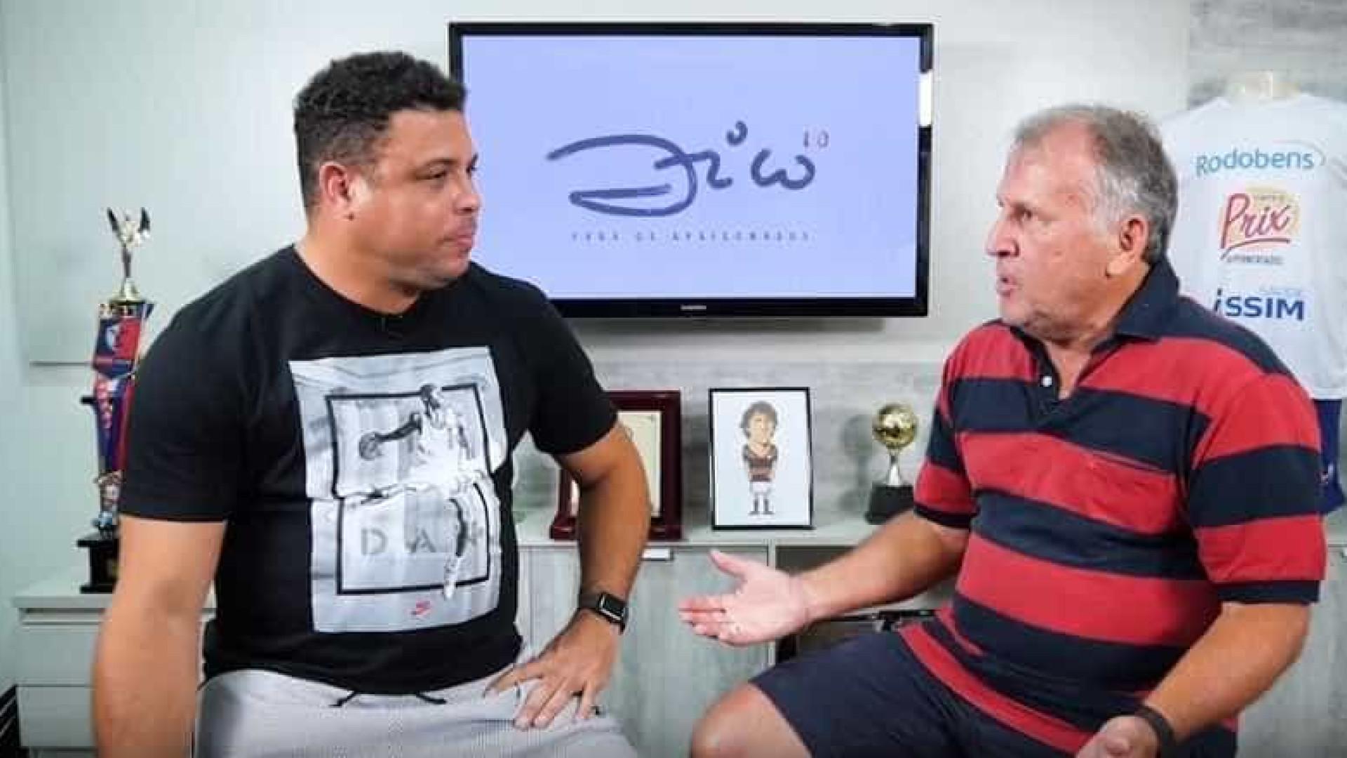 Ronaldo diz que transferência de Neymar foi passo atrás