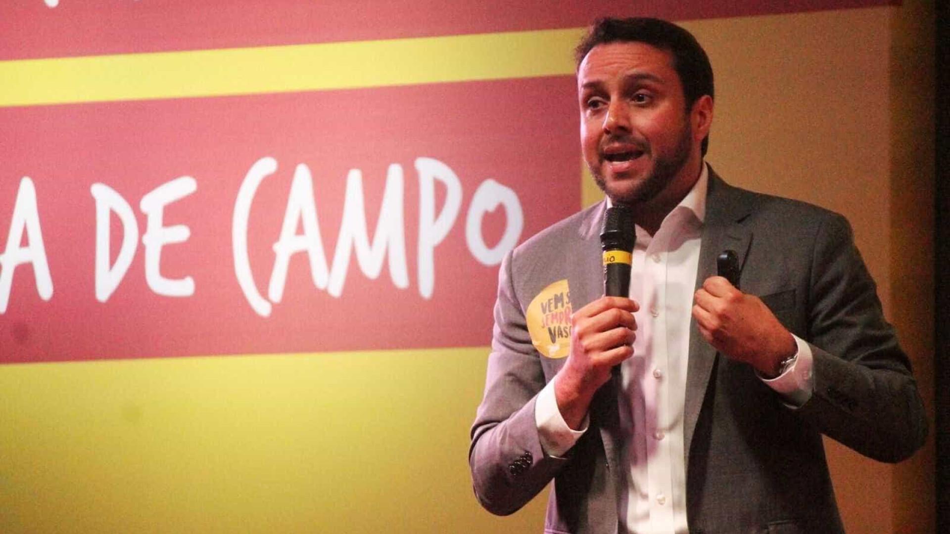 Presidente eleito acusa Eurico Miranda de permitir saques no Vasco