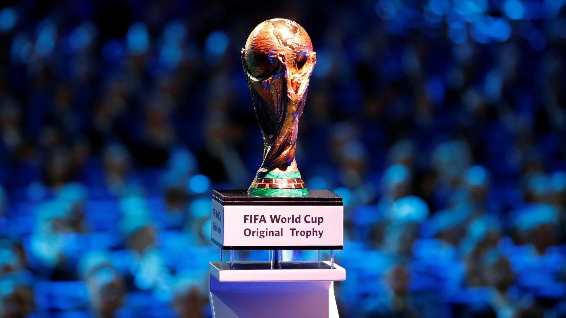 Faltam 150 dias para o início da Copa do Mundo Rússia 2018