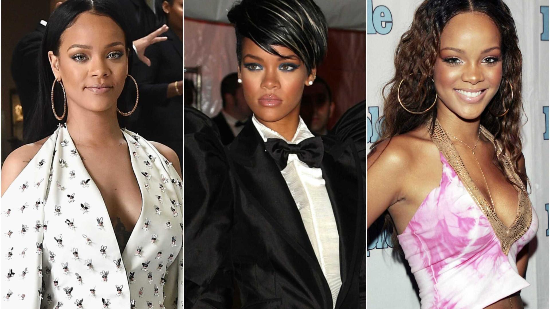 Acompanhe a evolução do estilo de Rihanna em 37 looks