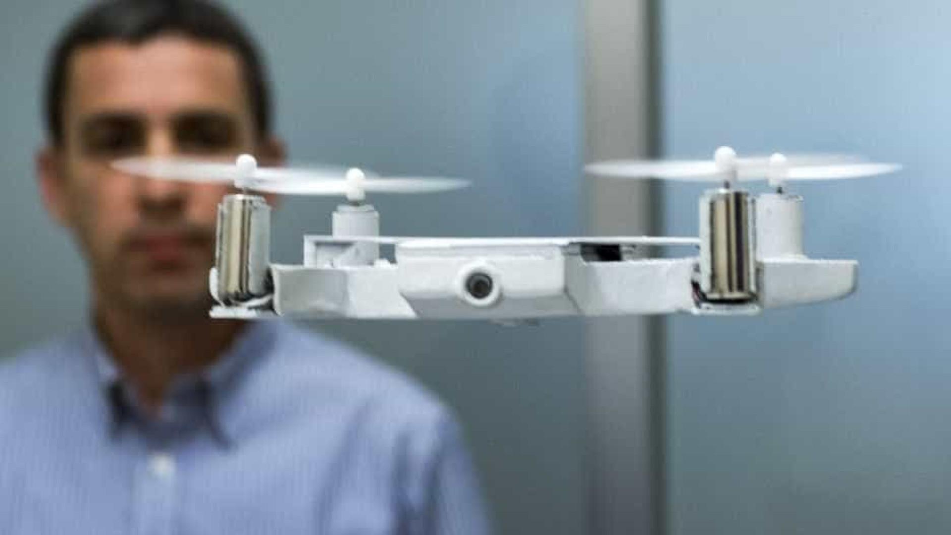 Drones com 'Face ID' e controlados por gestos? Amazon já tem patente