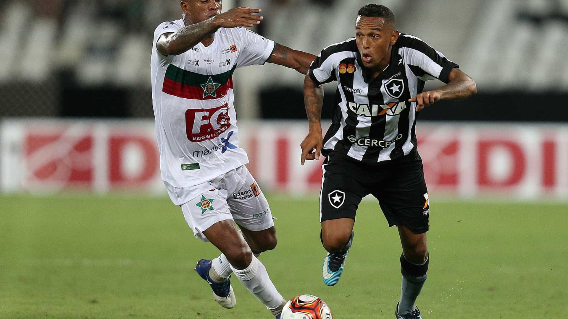 Jefferson falha, mas Botafogo garante empate no fim na estreia do Carioca