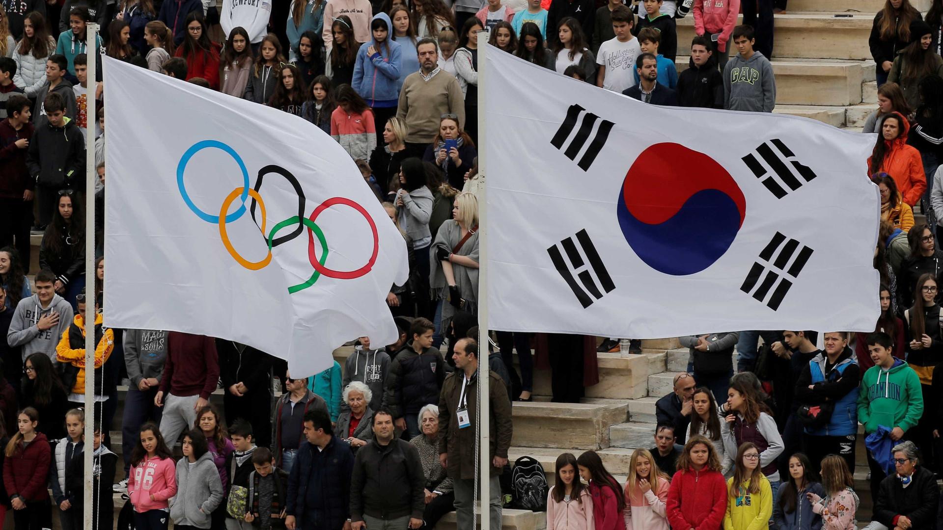 Coreias desfilarão juntas na abertura das Olimpíadas