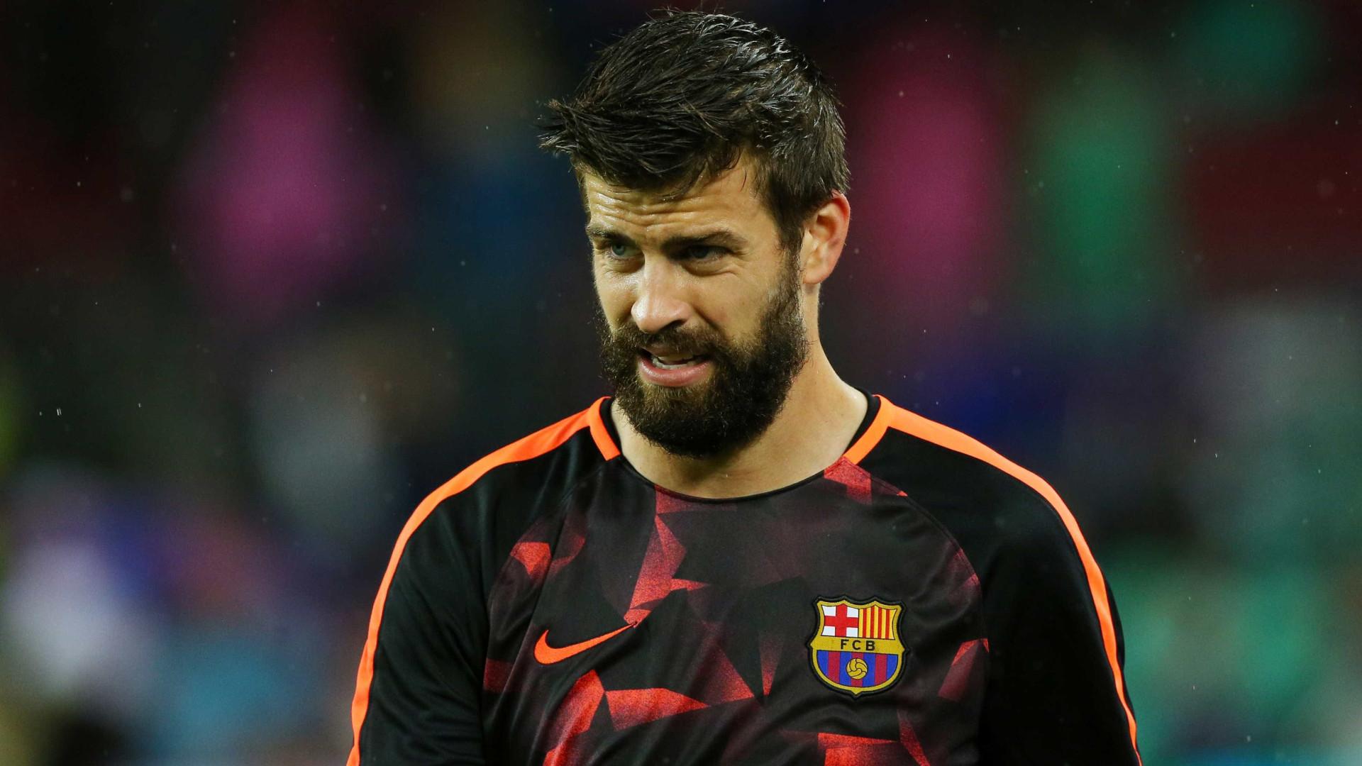 Com multa rescisória bilionária, Barcelona renova com Piqué até 2022