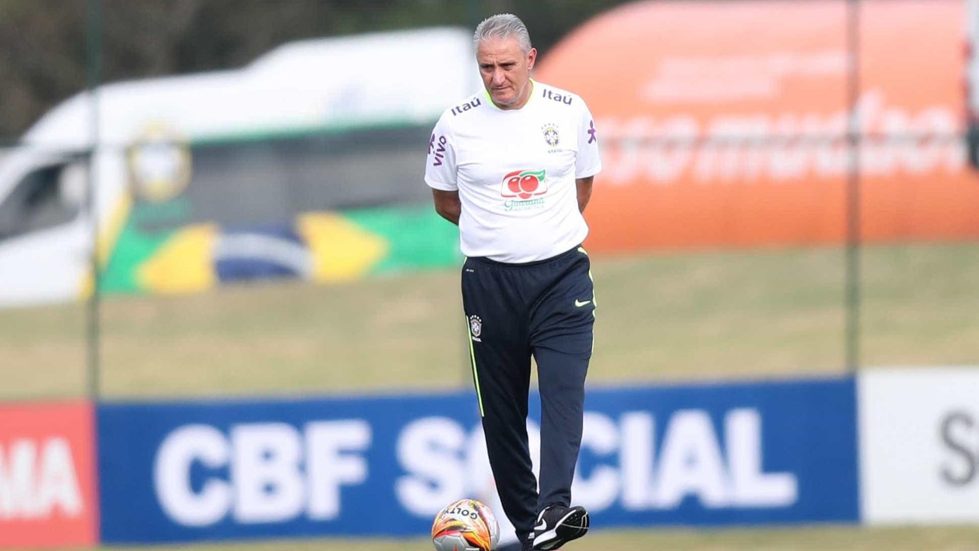 Seleção pode ter desfalques em treinos no Brasil antes da Copa