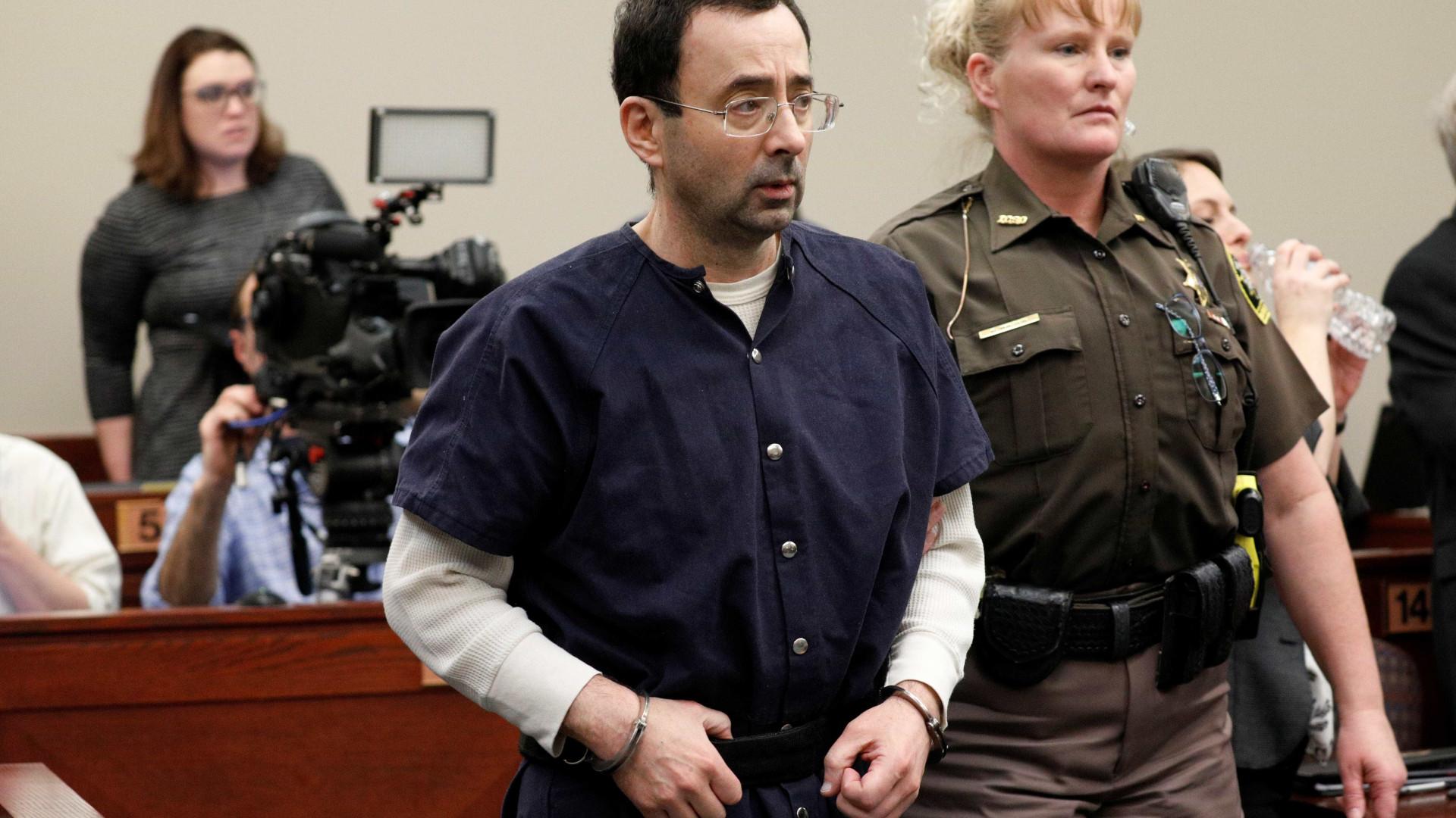 Ex-médico da ginástica dos EUA é condenado a até 175 anos