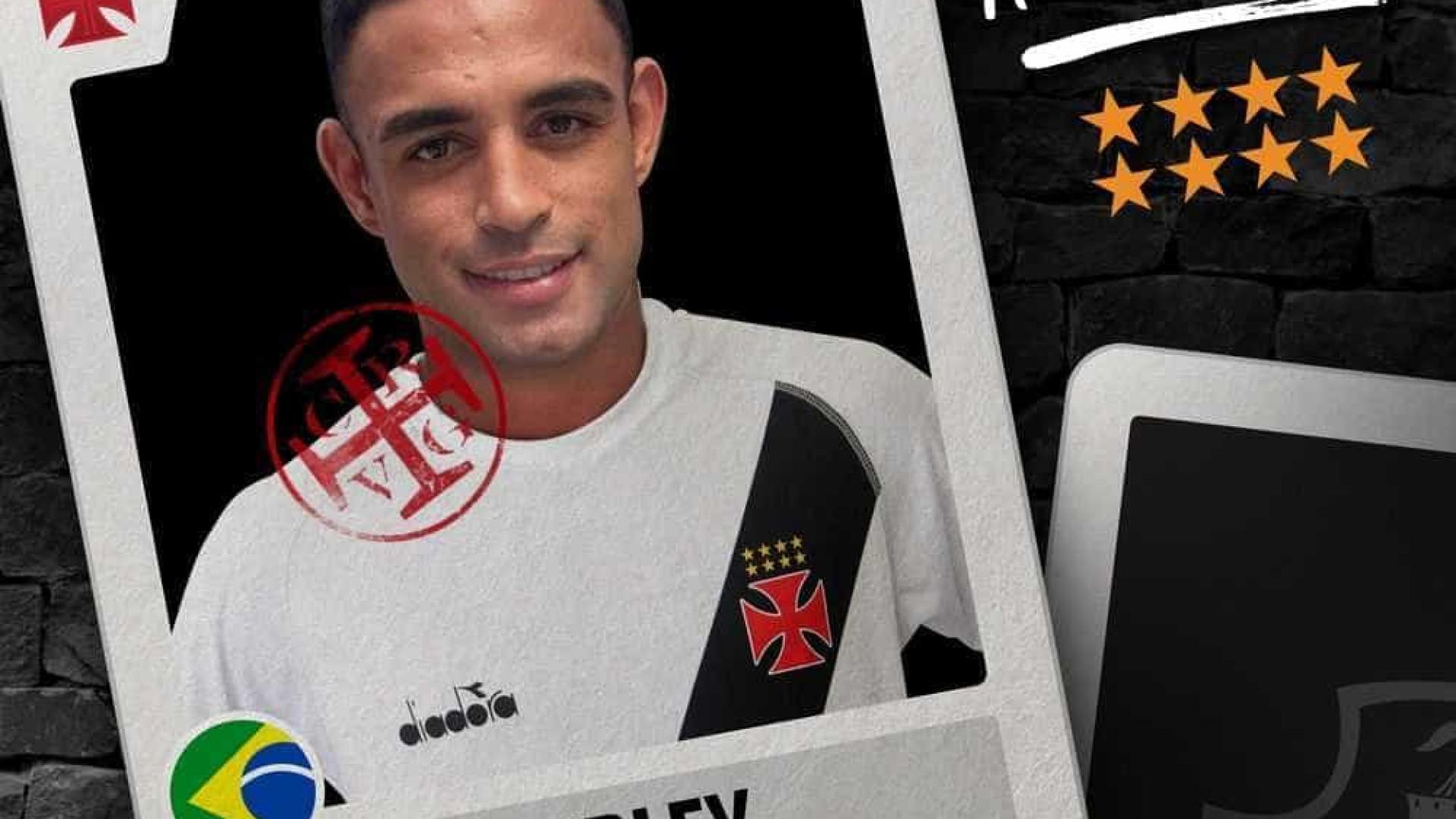 Vasco confirma a contratação do zagueiro Werley, ex-Grêmio e Atlético-MG