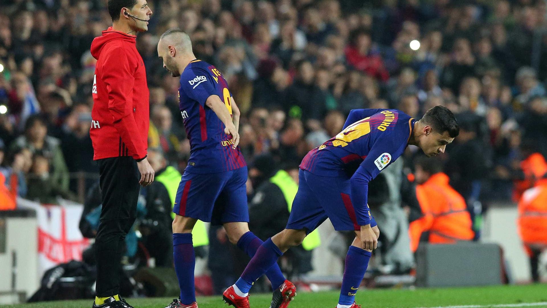 Coutinho comenta estreia pelo Barça: 'Noite especial'