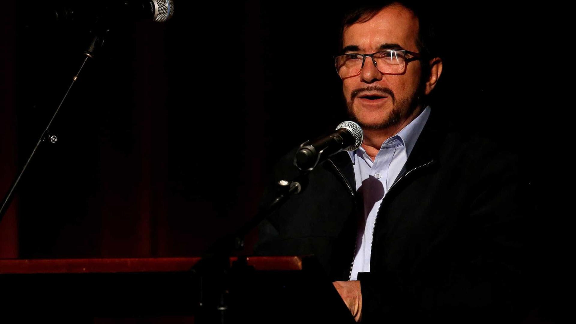 Líder das Farc desiste de candidatura presidencial da Colômbia