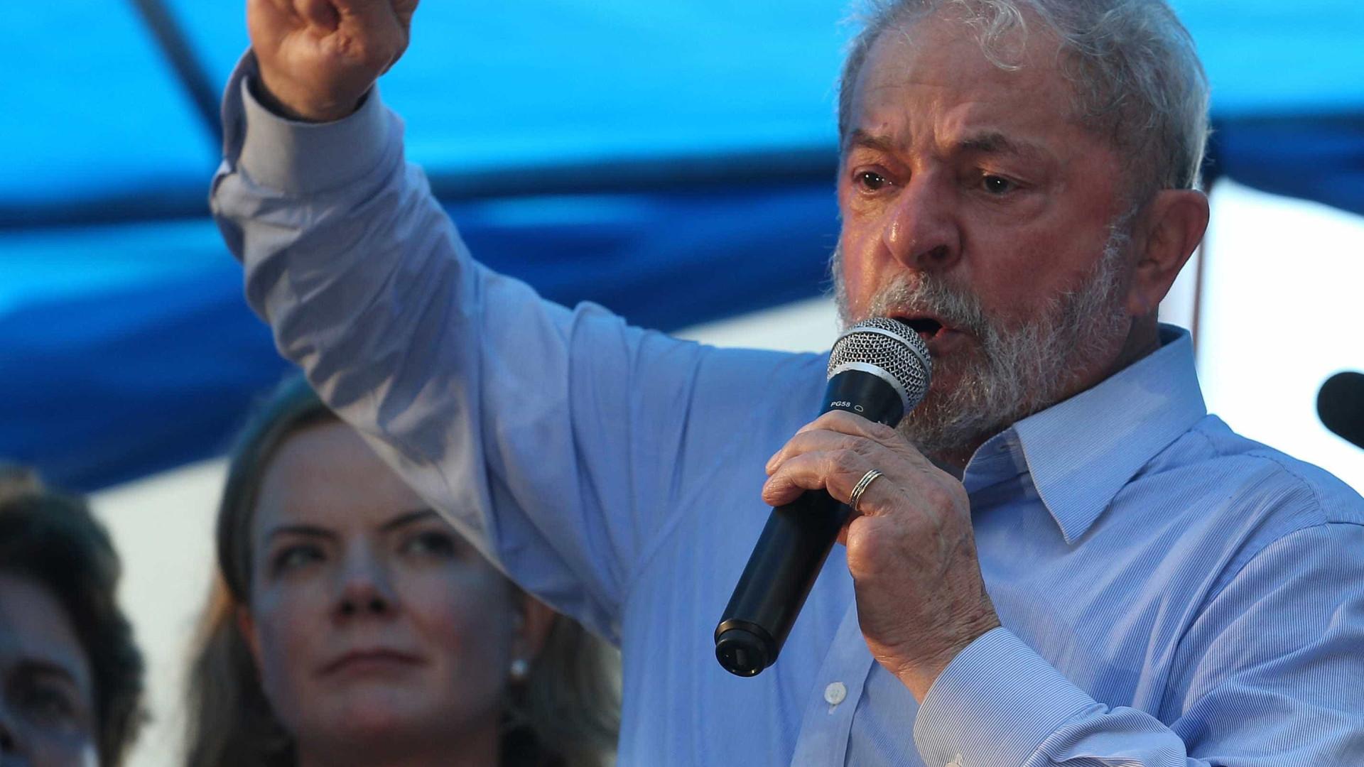 Lula: 'Quanto mais me acusam, mais eu cresço nas pesquisas'
