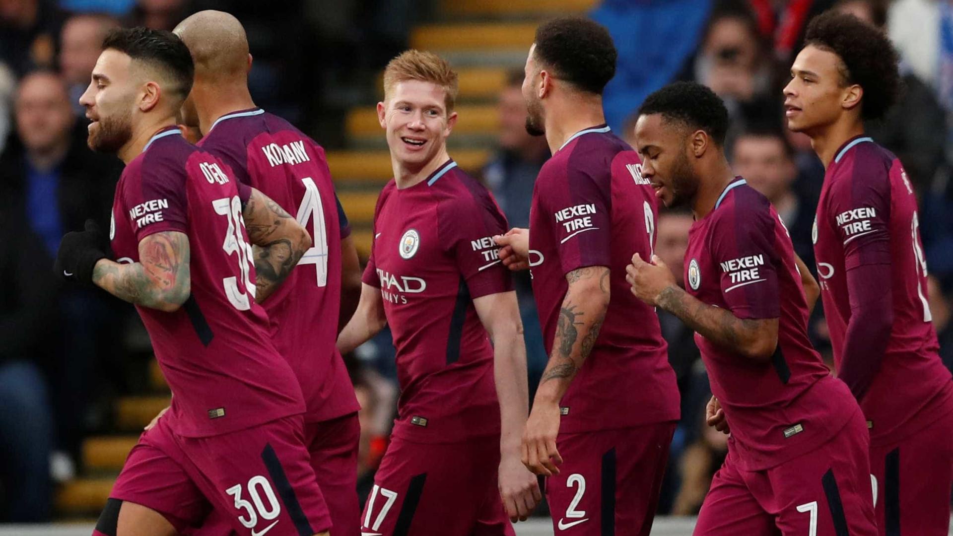 Com gol à lá Ronaldinho,City vence e avança na Copa da Inglaterra