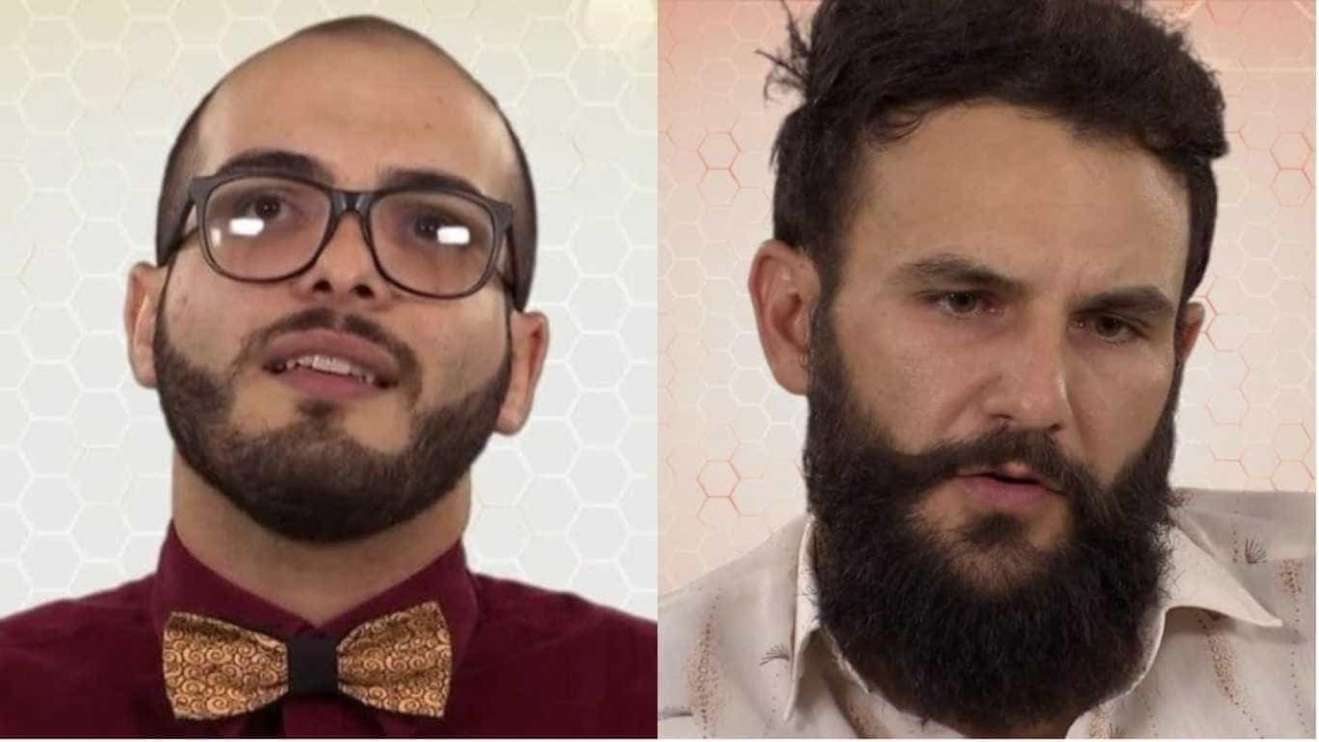 BBB18: Mahmoud insinua que Wagner é gay: 'Fica me olhando no banho'