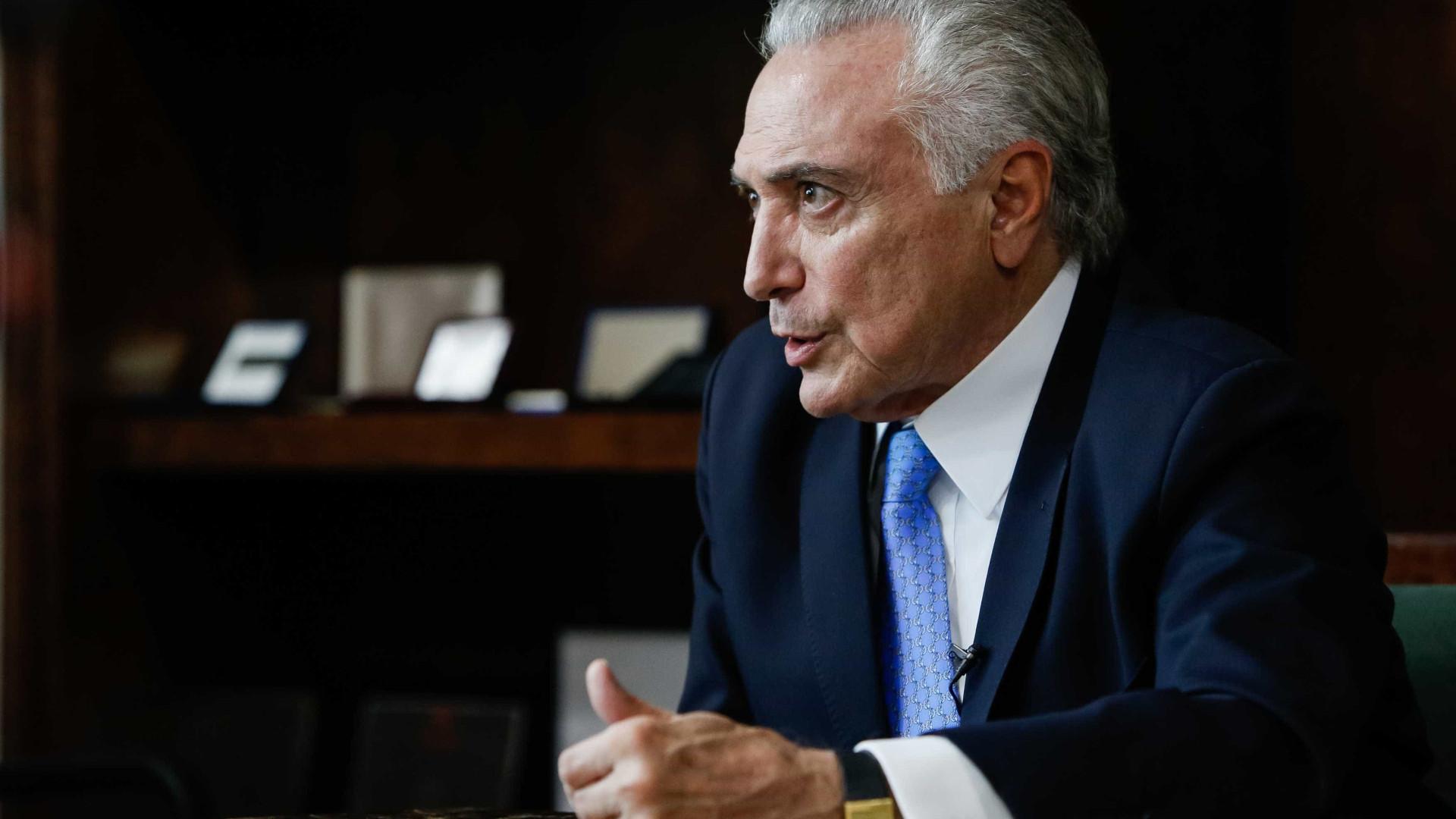 Temer defende Cristiane Brasil, mas admite que desgaste é negativo