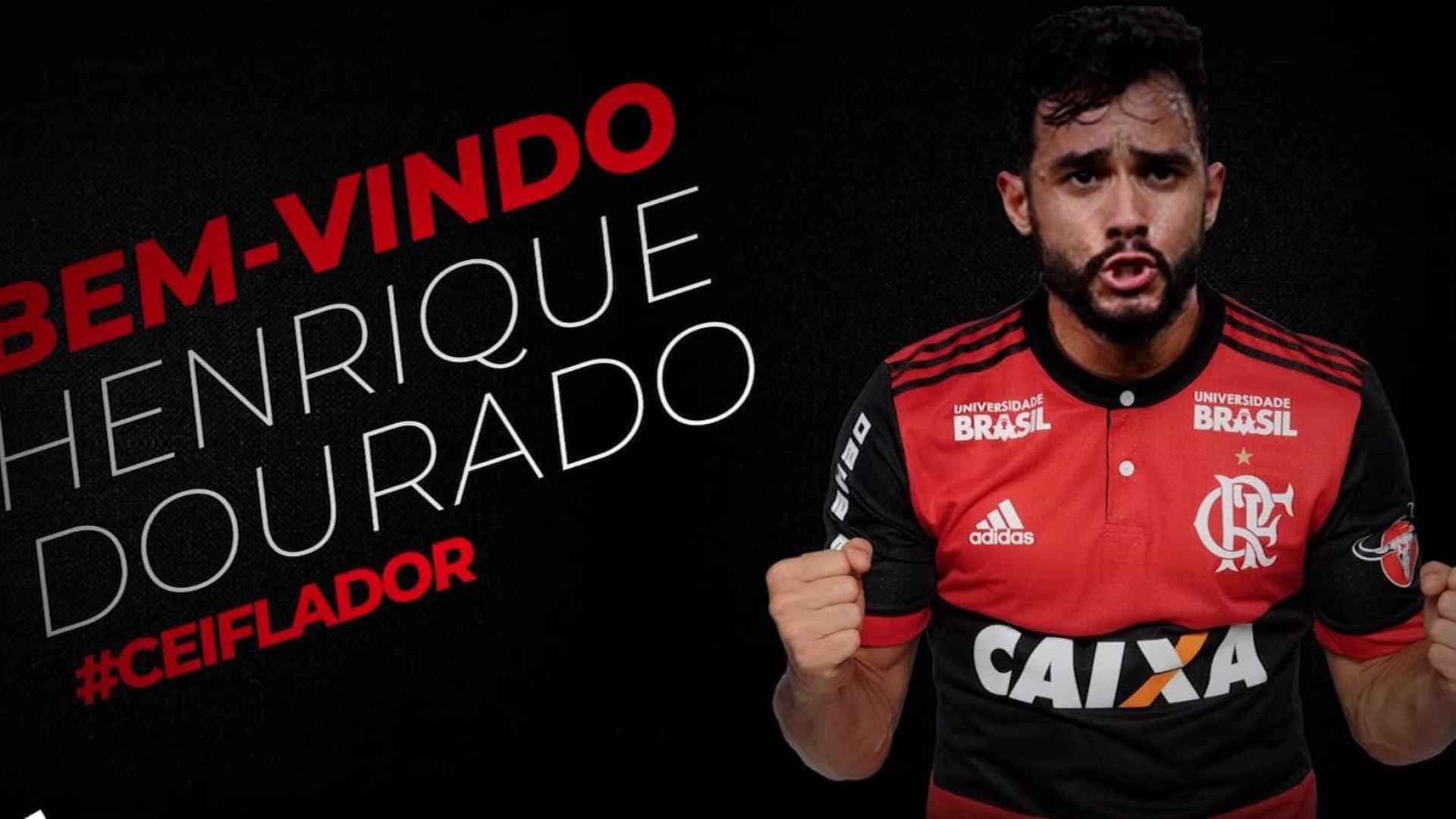 Oficial: Flamengo anuncia contratação de Henrique Dourado