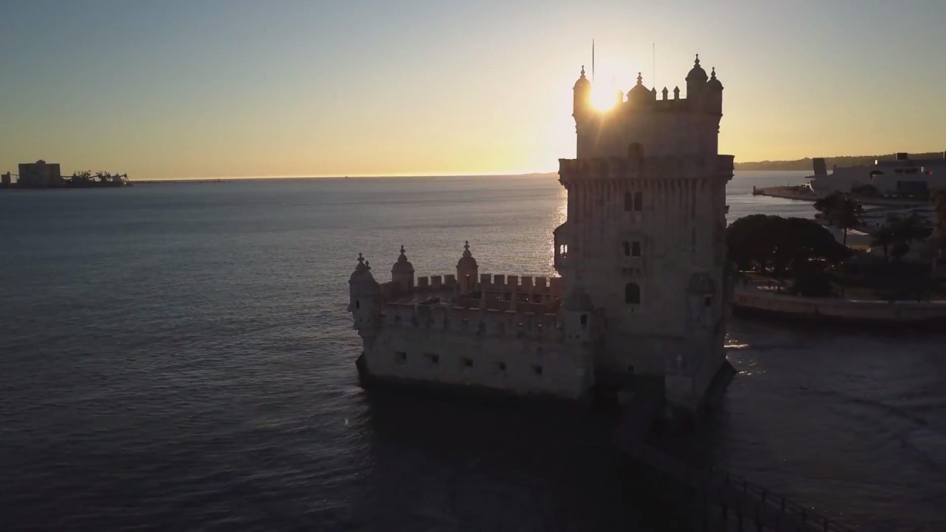 Casal faz vídeo incrível dos cenários de Portugal, Espanha e Malta