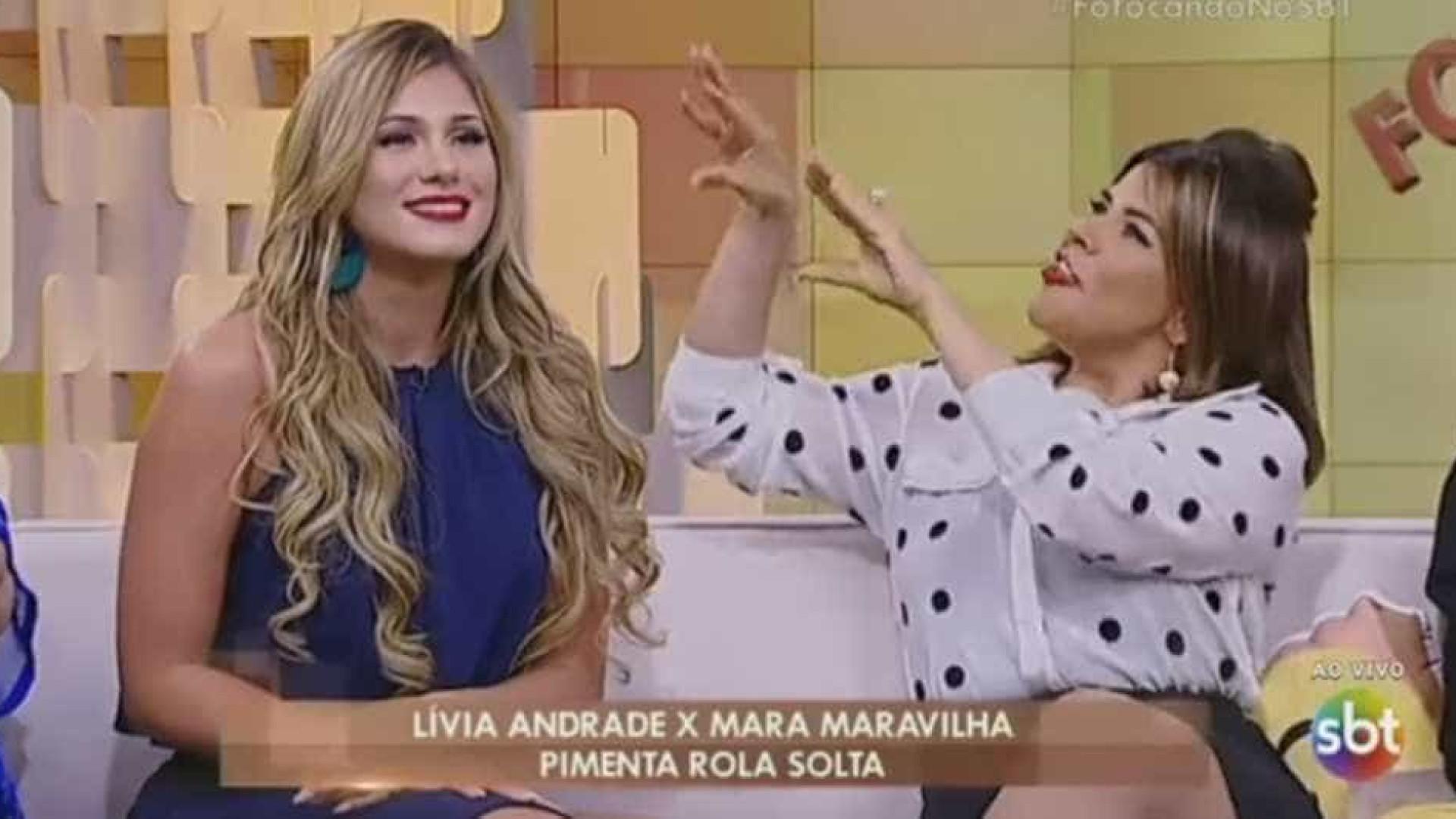 Lívia Andrade para Mara: 'Jesus te ama porque não convive com você'