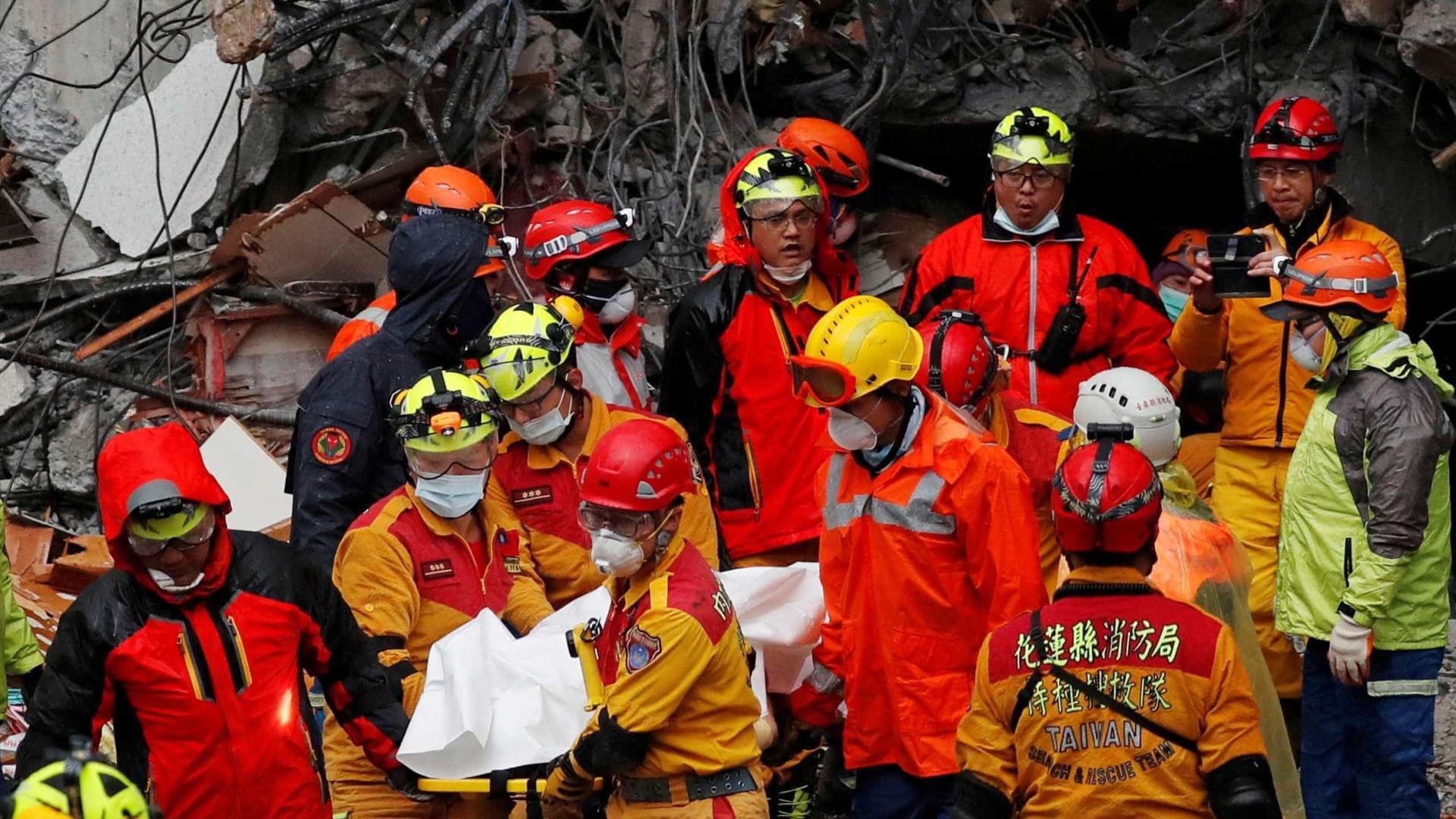 Novo terremoto atinge Taiwan nesta quarta