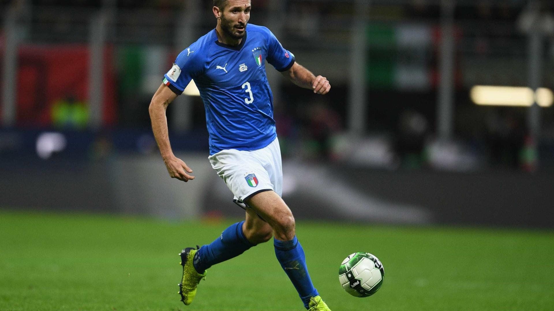 Chiellini culpa Guardiola por eliminação da Itália para Copa
