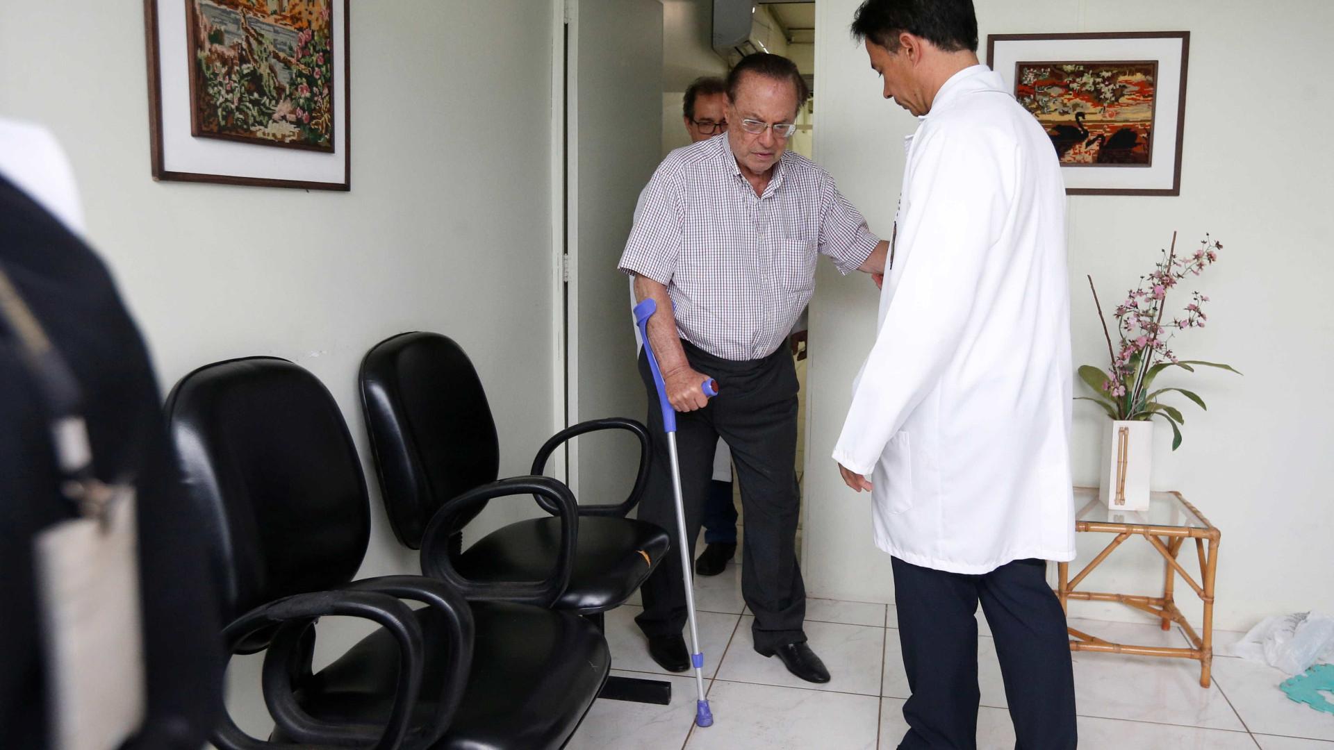 Preso, Maluf já emagreceu 10 kg e não quer visita de familiares