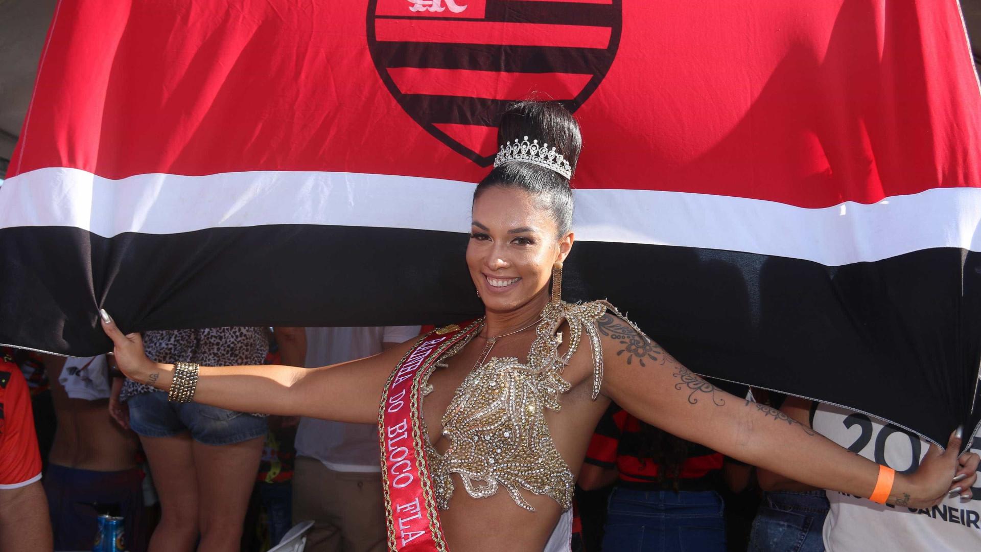 Rainha da Império Serrano, Milena Nogueira diz como mantém corpo sarado